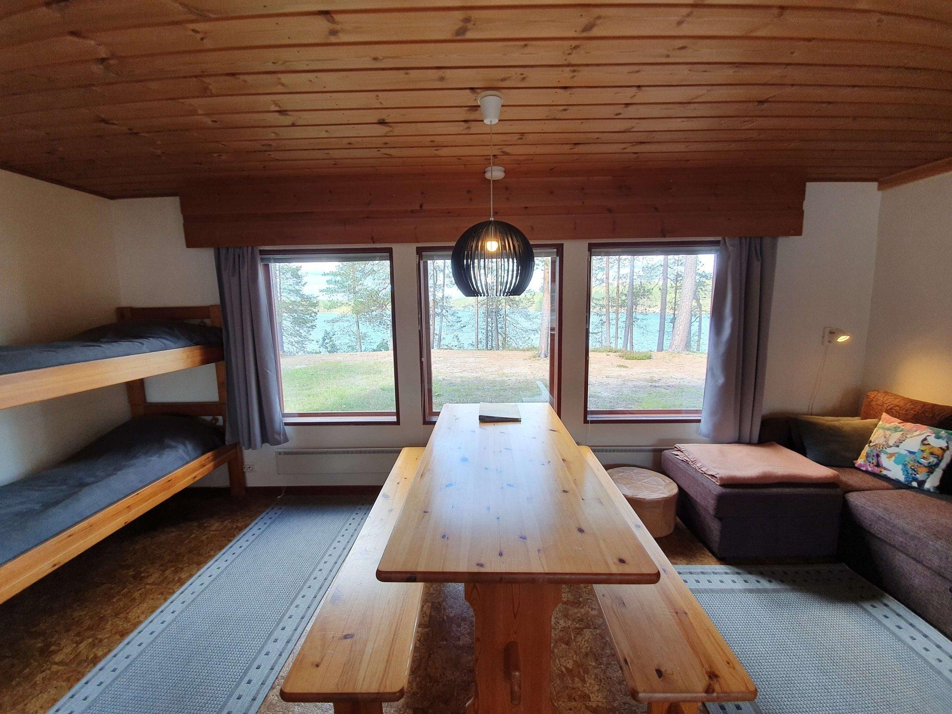 Cabin 8 Living Room Entrance Inside 2