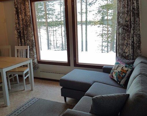 Cabin 9 living room winter 4