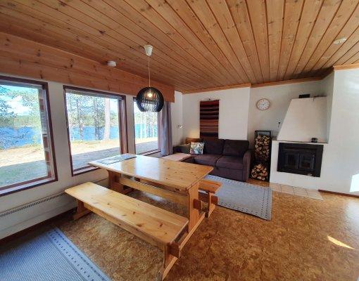 Cabin 8 livingroom inside 2